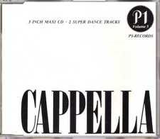 "Cappella - Helyom Halib - 3"" CDM - 1988 - Eurohouse Acid House 2TR Bortolotti"