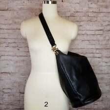 Guidi Bag Black Horse Leather Satchel Bag Vintage RARE