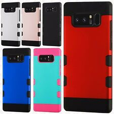 For Samsung Galaxy Note 8 Tuff Trooper HYBRID TPU Hard Skin Cover +Screen Guard