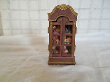 Doll house cabinet, pantry cabinet working doors Resin