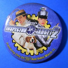 Disney's Inspector Gadget 2 movie pin badge button