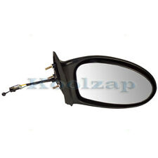 KV Manual Remote Rear View Door Mirror W//Glass+Housing Right Passenger Side