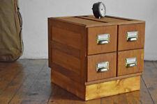 Schubladenschrank Antik Schränkchen Alt Loft Vintage Fabrik Holz Bauhaus Büro