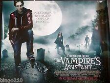 CIRQUE DU FREAK THE VAMPIRE'S ASSISTANT QUAD  POSTER SALMA HAYEK JOHN C REILLY