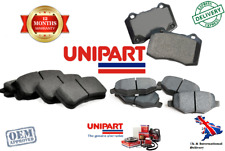 For Vauxhall Vivaro Combi Box Plaform/Chassis Front and Rear Brake Pad Set