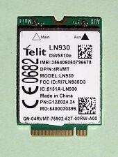 Dell  DW 5810e  P/N:4RVMT Telit LN930   LTE/DC+HSPA  4G  NGFF7160