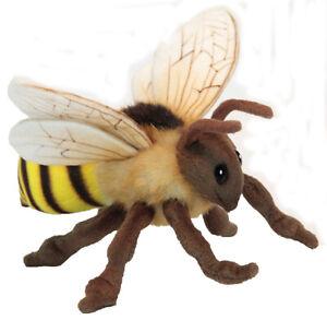 Honey Bee by Hansa - realistic plush soft toy - 22cm - HTC6565