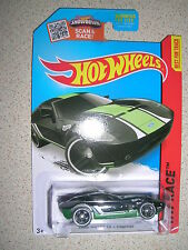 HOT WHEELS HW RACE FORD SHELBY GR-1 CONCEPT IN BLACK RARE LONG CARD