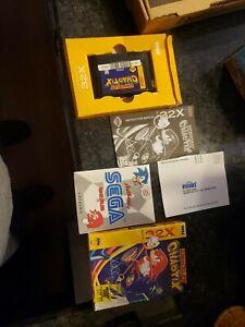 Knuckles Chaotix (Sega 32X, 1995)Case, Manual, and Cart complete cib BLOCKBUSTER