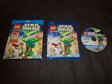 LEGO STAR WARS THE PADAWAN MENACE Blu Ray Film with mini figure.