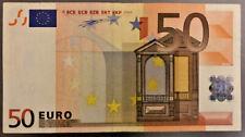 RARA !!!! Banconota euro 50 ITALIA (S)  - DUISENBERG  J002 - 11