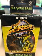 All Your Base Unit Booster - Monsterpocalypse - NIB - Free Shipping