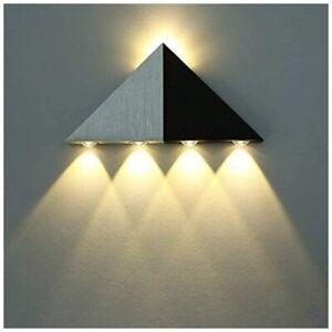 LED Wandleuchte Wandlampe Innen Up Down Treppenhaus Beleuchtung Modern Licht 5W