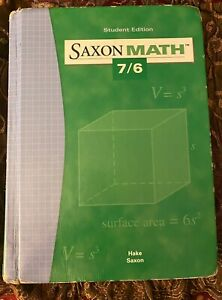 Used Saxon Math 7/6 Ser.: Saxon Math 7/6 Assessments a Classroom Masters by...