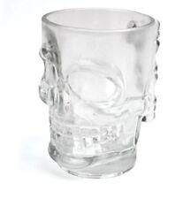 Skull Glass Beer Stein Holds a Pint.