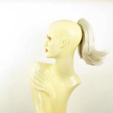 Postiche queue de cheval femme courte 28 cm blanche ref 9 en 60