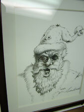 Kevin Siembieda print 8  - Undead Santa Claus, signed