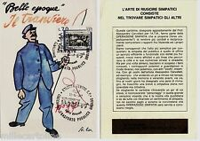 #BOLOGNA- CERVELLATI (CARICATURA) PER CENTENARIO TRASP. PUBBLICO URBANO-1977 (3)
