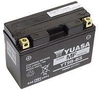 NOUVELLE BATTERIE ORIGINAL YUASA YT9B-BS YAMAHA TMAX T-MAX 500 ANNÉE 2001-2002.