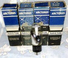 NOS Arcturus 2A4G vacuum tube radio TV valve, TESTED