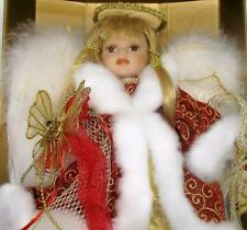 Collectors Choice Christmas Angel Porcelain Doll by DanDee RARE ONE!