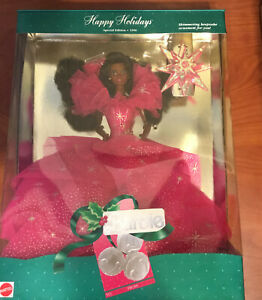 Happy Holidays Special Edition 1990 Barbie Doll