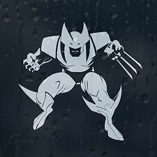 Dibujos Animados Wolverine X-Man Coche Decal Pegatina De Vinilo Para Panel o Ventana O Parachoques