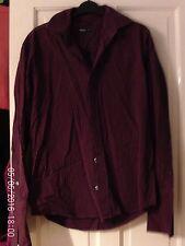 Rouge et Noir Shirt à manches longues, taille S