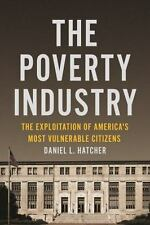THE POVERTY INDUSTRY - HATCHER, DANIEL L. - NEW HARDCOVER BOOK
