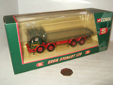Corgi 20903 AEC 8 Wheel Platform Lorry for Eddie Stobart in 1:50 Scale