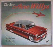 WILLYS AERO-ACE & AERO-WING orig 1952 USA Mkt Sales Brochure
