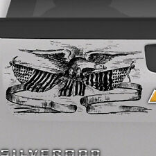 Liberty American Eagle Graphic Tailgate Hood Window Decal Vehicle Truck Vinyl
