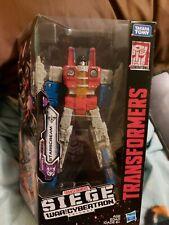 Transformers Siege War for Cybertron Starscream
