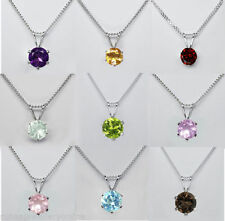 "Topaz Natural 18 - 19.99"" Fine Gemstone Necklaces & Pendants"