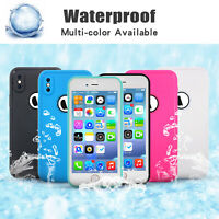 For iPhone XS MAX XR X 6S 7 8 Plus Waterproof Shock Dirt Proof TPU Case Cover US