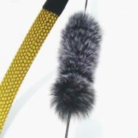 Archery Recurve Bow String Silencer Longbow Bowstring Rabbit Hair Dampener 6L