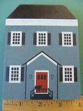 Fj Designs The Cat's Meow Village 1985 Series Iii Allen-Coe House ~*Pine~*