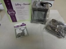 "Scentsy ""GALLERY-Charcoal"" Warmer ~ RETIRED~ FREE BUCK FRAME~"