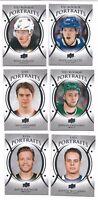 2018-19 Upper Deck Series 1 & 2 Portraits U Pick (P-1-P-100) Free Comb S/H