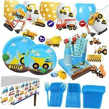 Construction Themed Birthday Party Supplies for Boys - Dump Truck and Tractor