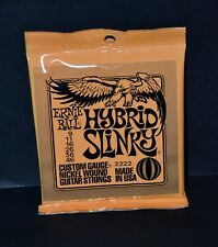 ERNIE BALL 2222 HYBRID SLINKY Electric guitar Strings 09/46 NEUF