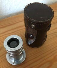 FED 1:6,3 F=100mm / M39 Teleobjektiv mit Lederhülle für FED, Zorki und Leica