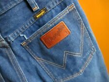 29x30 True Vtg 80s WRANGLER BOOTCUT 945DEN RAW DENIM Jeans MADE IN USA
