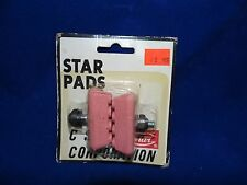 Old school bmx brake pads Vintage Nos pink