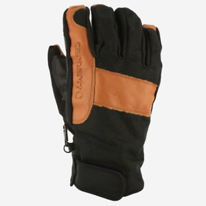 Carhartt Chill Stopper Glove | Black Duck, Brown Leather  Mens M | A508