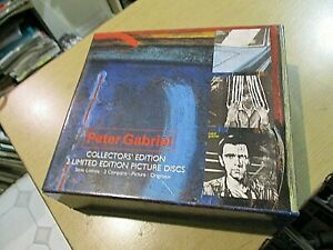 coffret collector 3 CD  pictures edition limitee peter gabriel