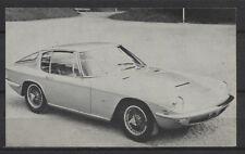 Maserati Mistral Coupe Vintage Dutch Trading Card Auto Album No.53
