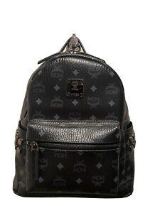 MCM Small Stark Studded monogram backpack