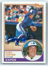 Gary Carter (Deceased) signed 1983 Topps Montreal Expos, Mets autograph #370