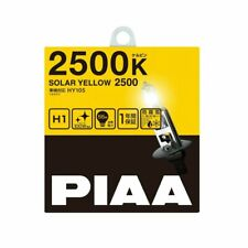 PIAA HY105 SOLAR YELLOW 2500K H1 12V 55W Halogen Bulb 2-pcs. Regular Inport